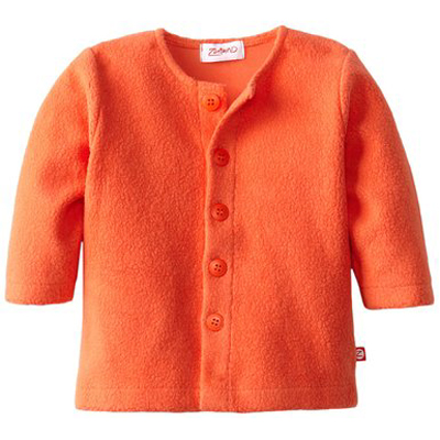 Mandarin Cozie fleece jacket 1