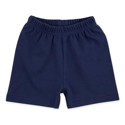 True navy solid shorts 1