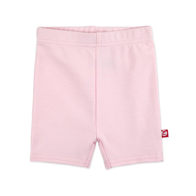 Baby pink Organic Cotton Bike Short 1